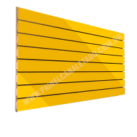 Painel Canaletado Amarelo 915mm X 2750mm