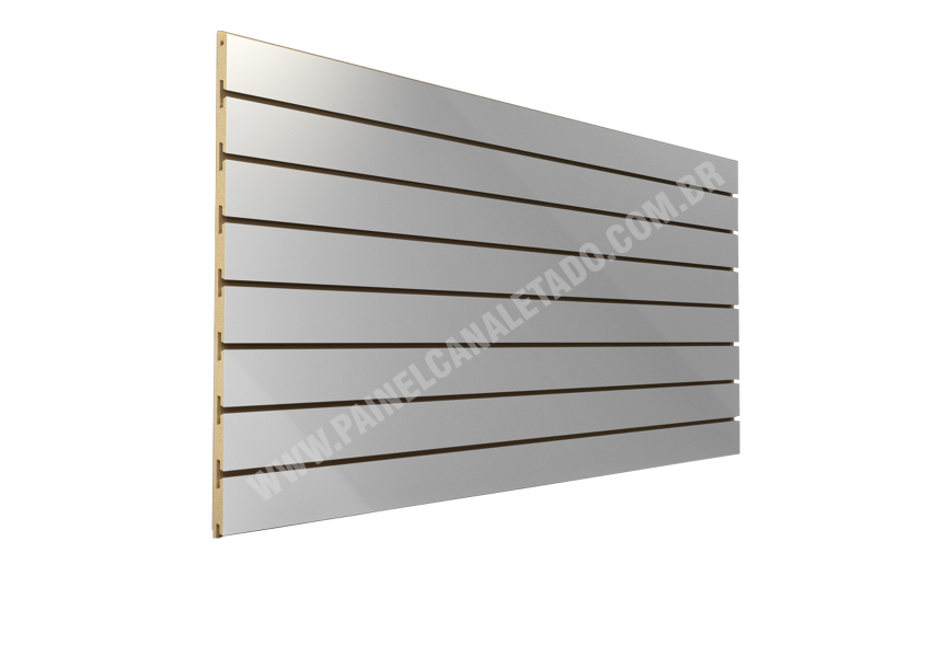 Painel Canaletado Branco 1220mm X 2440mm